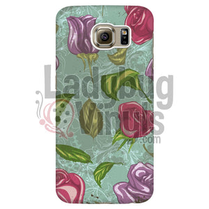 Vintage Rose Phone Case - LadybugVinyls