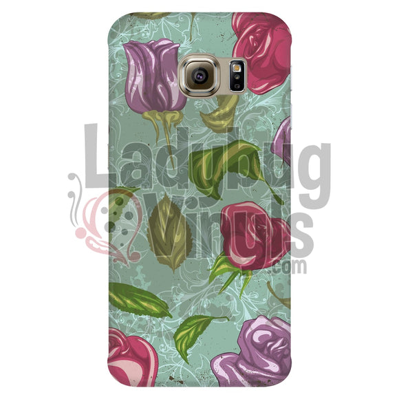 Vintage Rose Phone Case Galaxy S6 Edge Cases