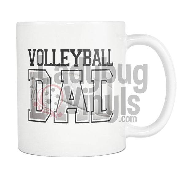 Volleyball Parents 11oz Coffee Mug - LadybugVinyls