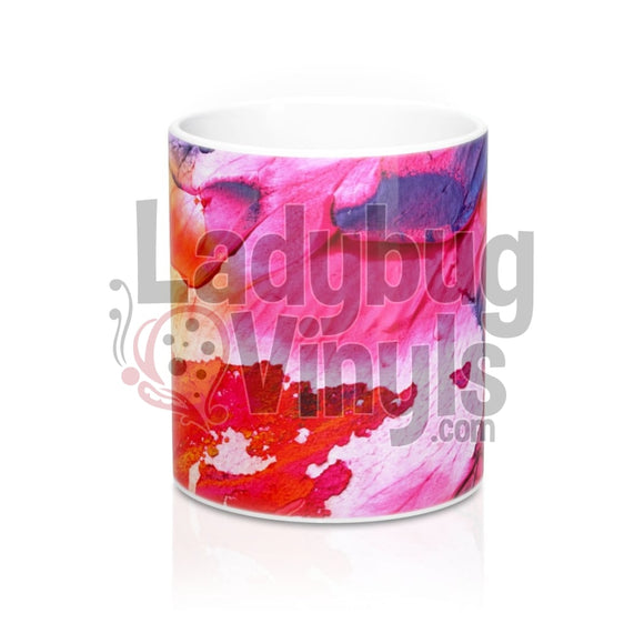 Watercolor All Over Print 11Oz Coffee Mug