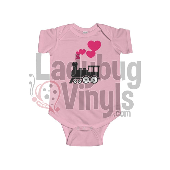 Whale Love Onesie 6-12M / Pink Kids Clothes