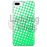 White And Green Halftone Phone Case Iphone 7 Plus/7S Plus Cases