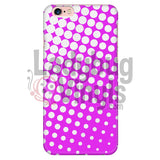 White And Pink Halftone Phone Case Iphone 6 Plus/6S Plus Cases