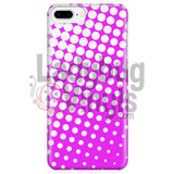 White And Pink Halftone Phone Case Iphone 7 Plus/7S Plus Cases