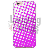 White And Pink Halftone Phone Case Iphone 7/7S Cases