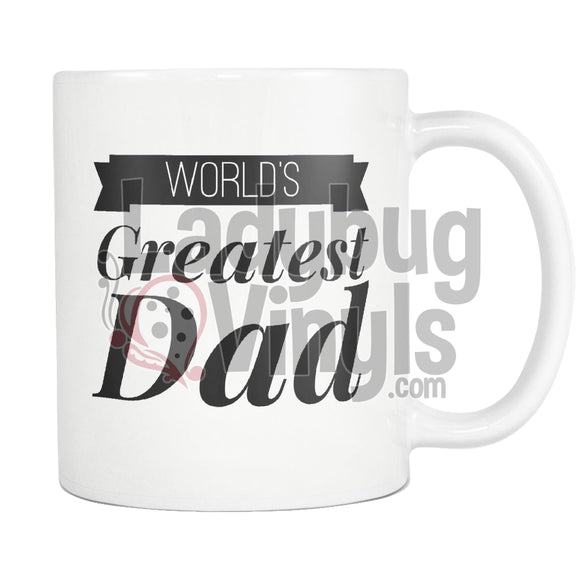 Worlds Greatest Dad 11Oz Coffee Mug Drinkware