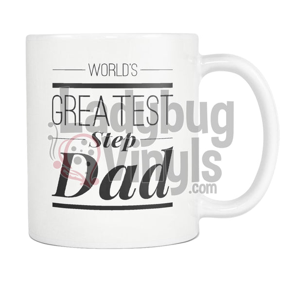Worlds Greatest Step Dad 11Oz Coffee Mug Drinkware