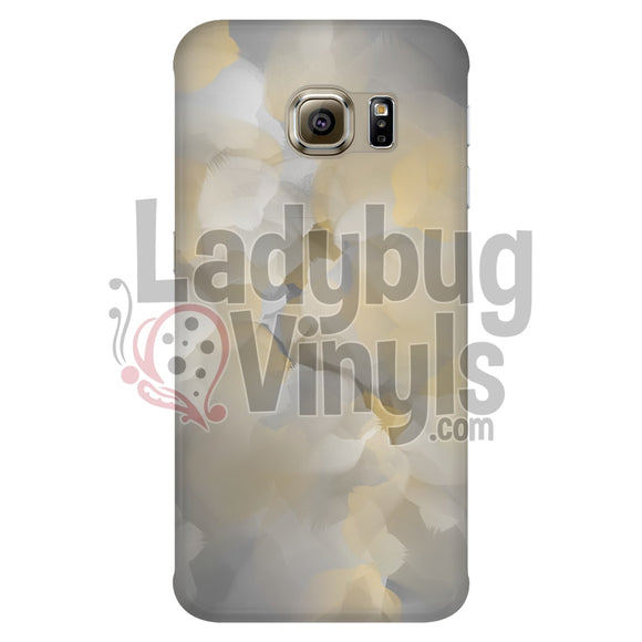 Yellow and Grey Watercolor Phone Case - LadybugVinyls