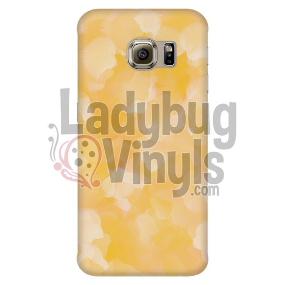 Yellow Watercolor Phone Case Galaxy S6 Edge Cases