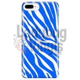 Zebra Print (blue) Phone Case - LadybugVinyls