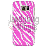 Zebra Print (Pink) Phone Case Galaxy S6 Cases