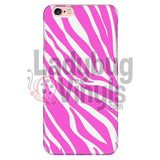 Zebra Print (Pink) Phone Case Iphone 6 Plus/6S Plus Cases