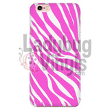 Zebra Print (Pink) Phone Case Iphone 7/7S Cases