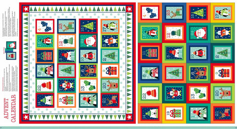 Makower Christmas Novelty Advent Calender