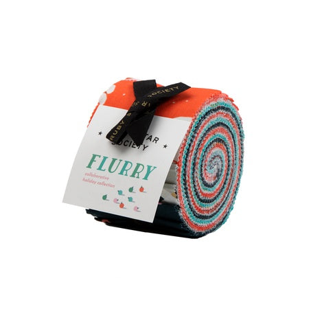 {New Arrival} Moda Ruby Star Society Flurry Junior Jelly Roll