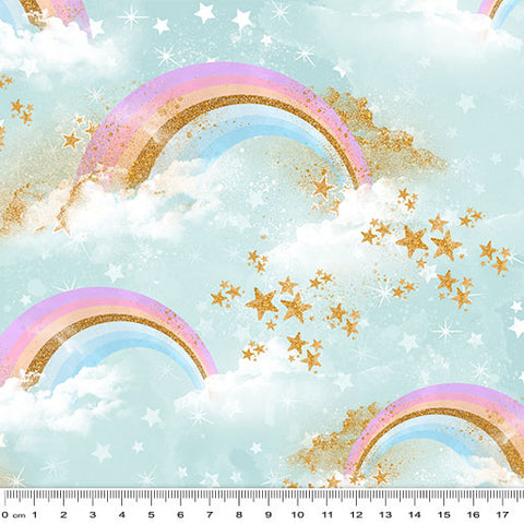 {Pre-Order January} Rainbow Unicorn Radiant Rainbows Blue