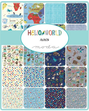 Moda Hello World Layer Cake
