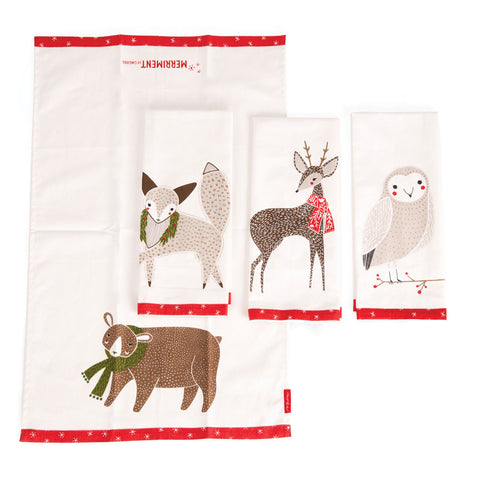 Moda Gingiger Merriment Tea Towels