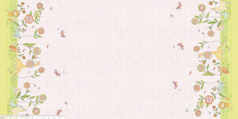 Blend Cori Dantini Hello Big World Delightful Days Double Border Pink
