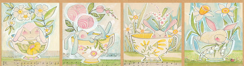 Blend Cori Dantini The Promise of Spring Tea with Bunny Panel