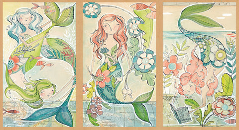 Blend Mermaid Days A Mermaid Tale Panel Design