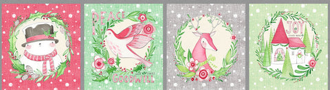 {New Arrival} Blend Cori Dantini Merry & Bright Holiday Wishes Multi