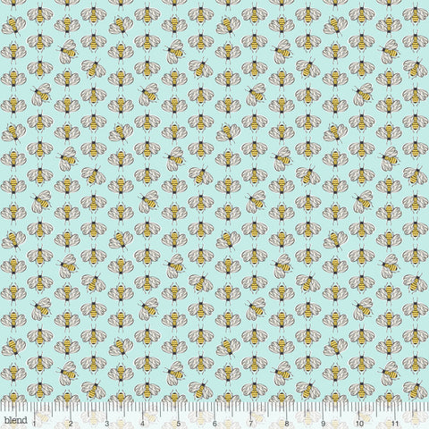 {New Arrival} Blend Cori Dantini For the Love of Bees Bumbly Bee Light Blue