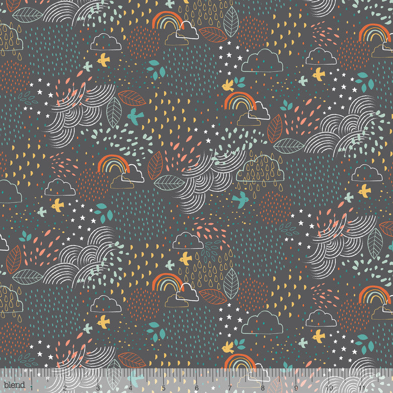 Blend Faraway Forest Dream a Little in Grey