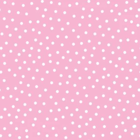 {New Arrival} 3 Wishes Itty Bitty's FLANNEL Pink Dot