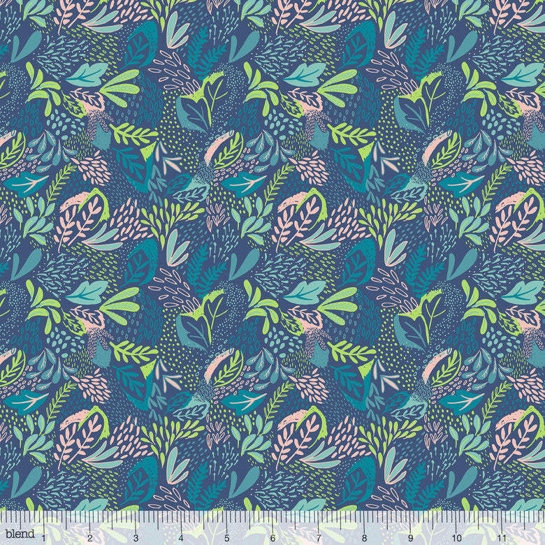 Blend Bwindi Forest Mountain Foliage Blue