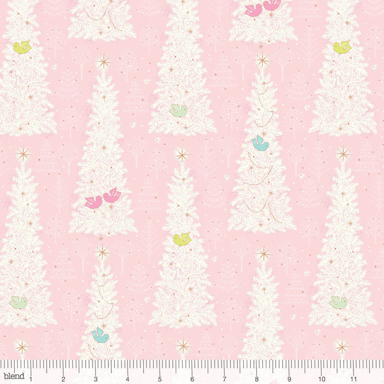 Blend Christmas Dear Winter Flock Pink