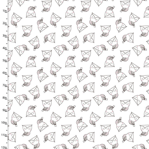 3 Wishes Whimsy Woodland Owls White