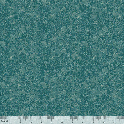 Blend Mia Charro  Floral Pets Sigrid Turquoise