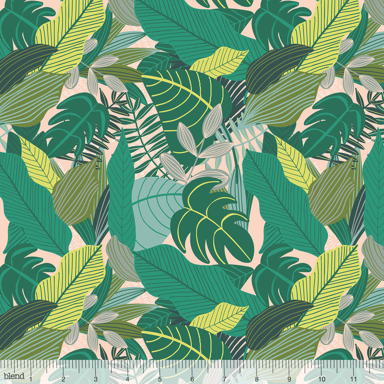 Blend Fabrics Junglemania  Jungle Green