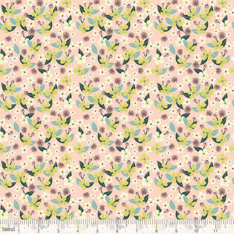 Blend Fabrics Junglemania Little Brave Peach