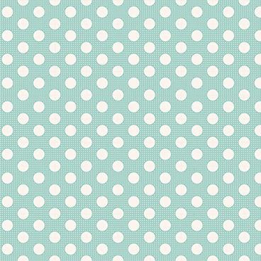 Tilda Medium Dots Teal