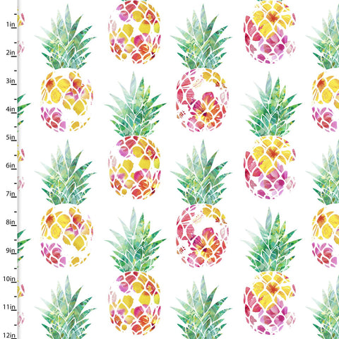 3 Wishes Tropicale Digital Pineapples