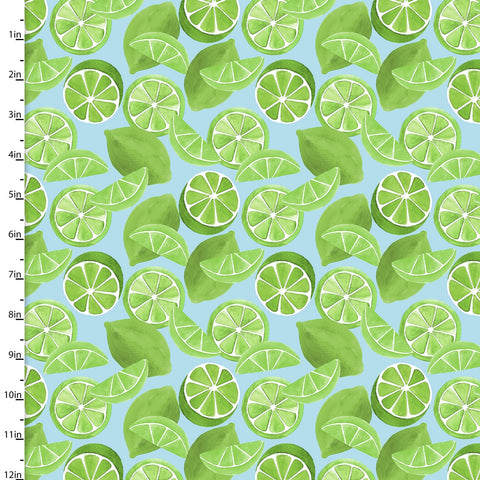 3 Wishes Tropicale Digital Turquoise Limes