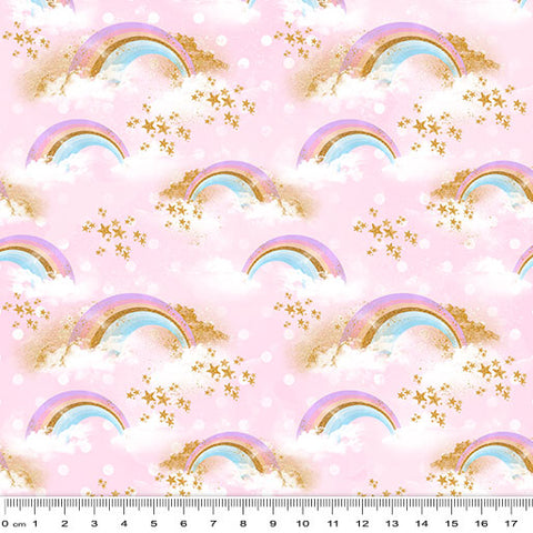 {New Arrival} Rainbow Unicorn Radiant Rainbows Pink