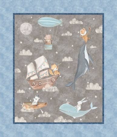 3 Wishes Digital Adventures in the Sky Multi Panel