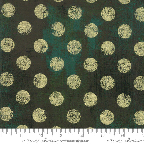 Moda Grunge Hits the Spot Metallic Christmas Green