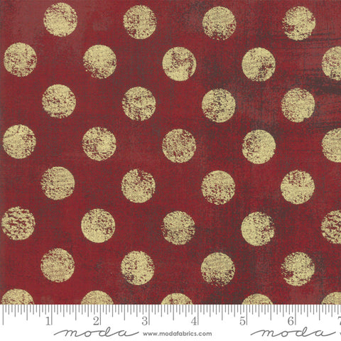 Moda Grunge Hits the Spot Metallic Red Berry