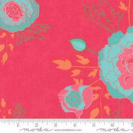 Moda Acreage Scroll Garden Floral Pink