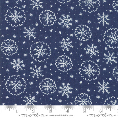 Moda Stacy Iest Hsu Snow Day Let It Snow Snowflake Night Sky