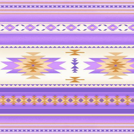 Elizabeths Studio Tucson Collection Lavender Stripe