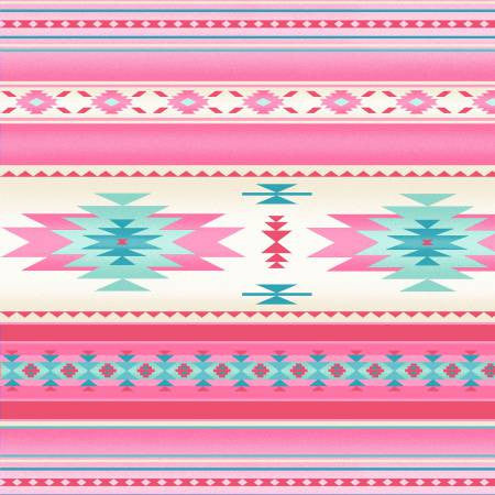 Elizabeths Studio Tucson Collection Soft Pink Stripe