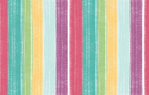 Bambini Brights Multi Colour Stripes
