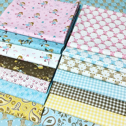 Moda Mystery Bundle 1 x Panel + 5 Metres Fabric (1 Metre Selection)