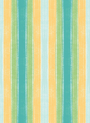 Bambini Brights  Yellow & Blue Stripe