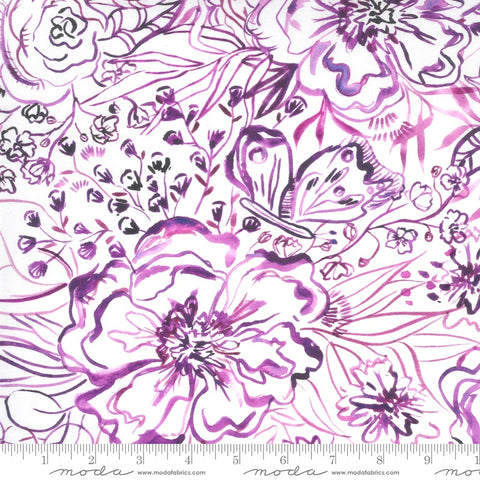 {New Arrival} Moda Sunshine Soul Passion Flowers Ultra Violet